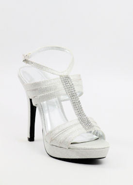Homecoming Shoes Silver (Style 200-46)