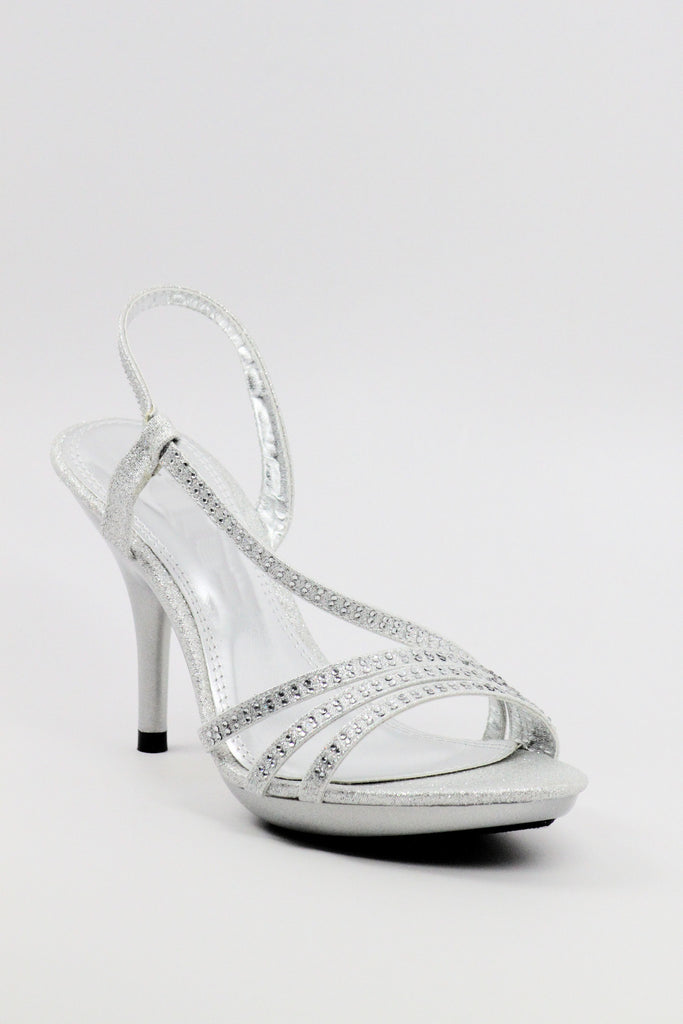 Prom Shoes Silver (Style 200-47)