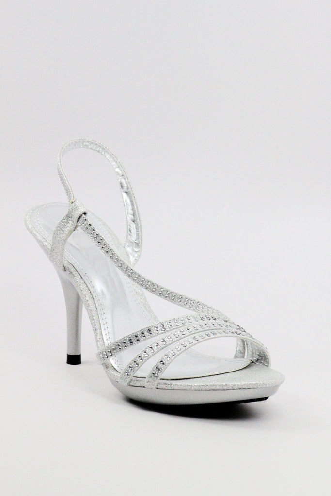 Homecoming Shoes Silver (Style 200-47)