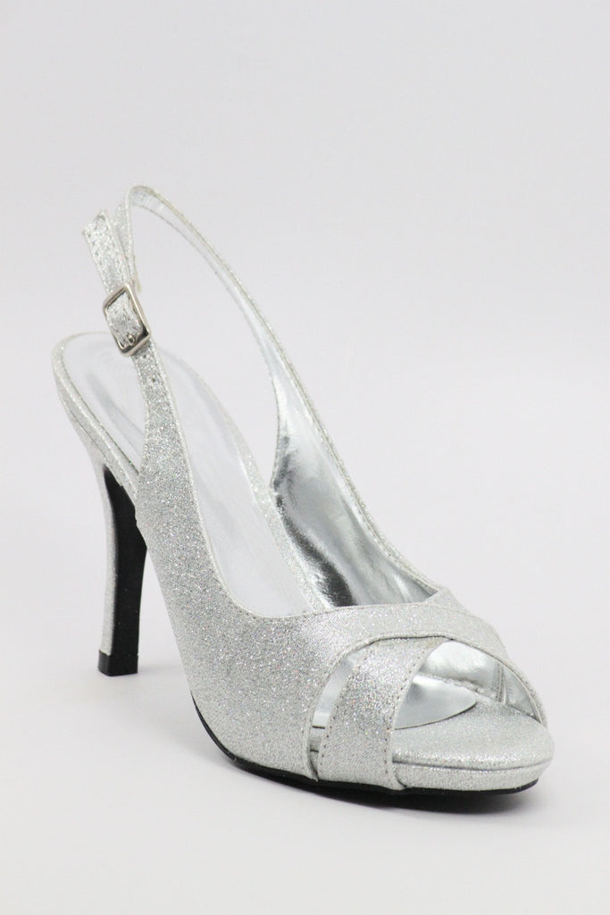 Homecoming Shoes Silver (Style 200-48)