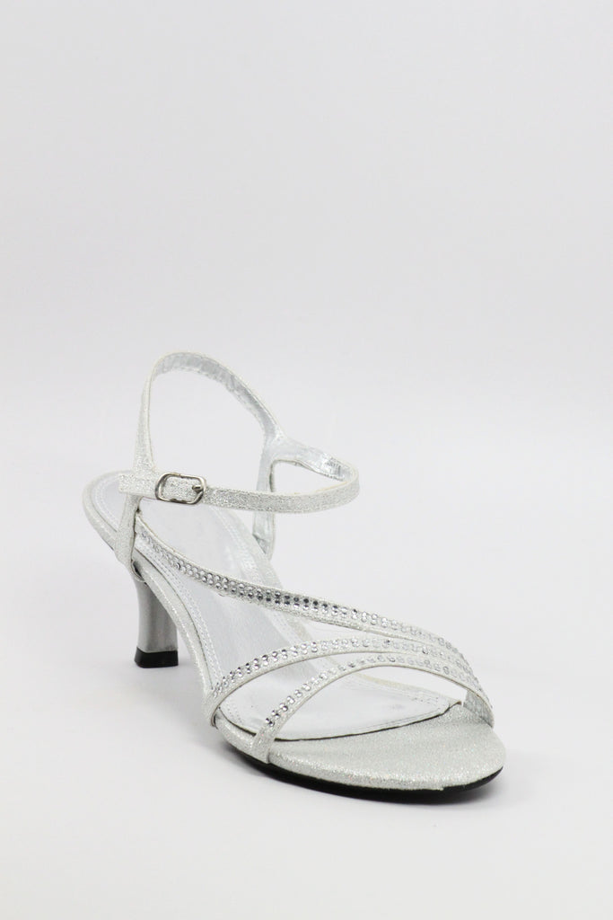 Prom Shoes Silver Style 200 49