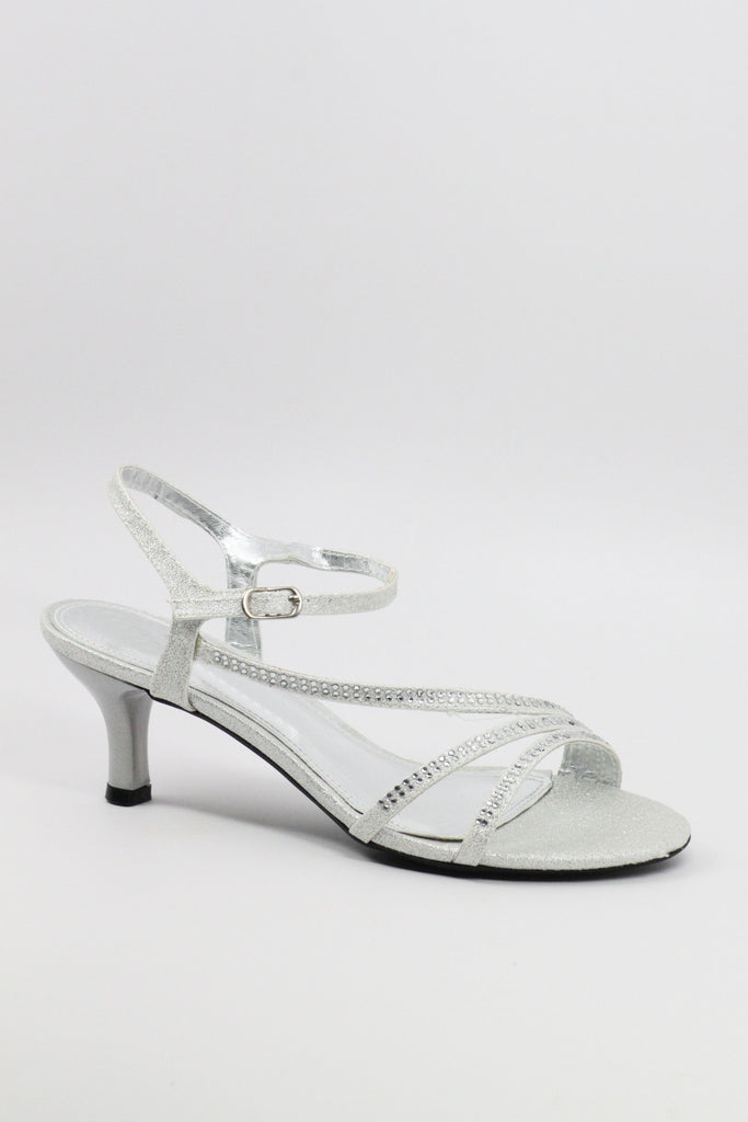 Prom Shoes Silver (Style 200-49)
