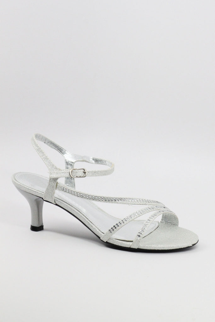Homecoming Shoes Silver (Style 200-49)