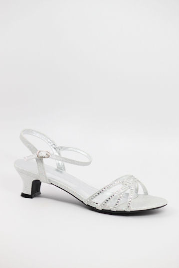 Prom Shoes Silver (Style 200-53)