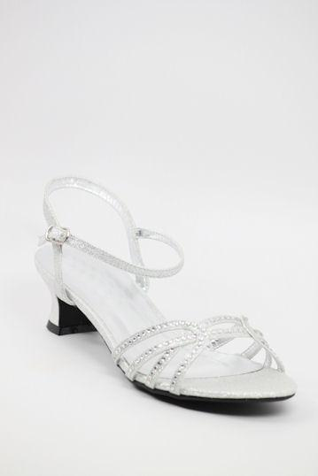Homecoming Shoes Silver (Style 200-53)