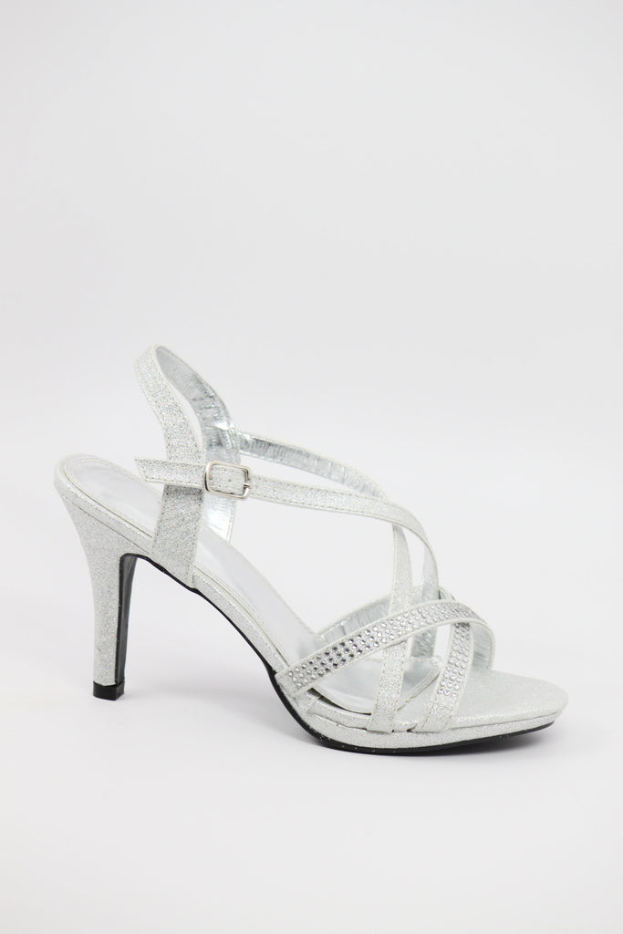 Prom Shoes Silver (Style 200 54)