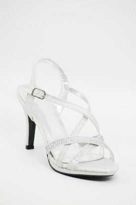 Prom Shoes Silver (Style 200-54)