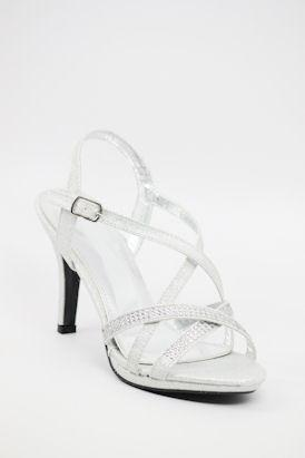 Homecoming Shoes Silver (Style 200-54)