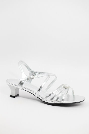 Prom Shoes Silver (Style 200-56)