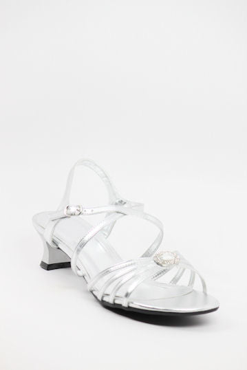 Homecoming Shoes Silver (Style 200-56)
