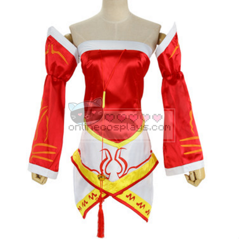 Classis Ahri League of Legends Cosplay Costume OC819