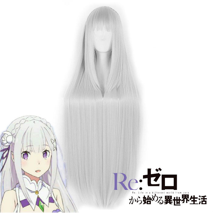 Emilia Re: Zero Cosplay Wig OC00035