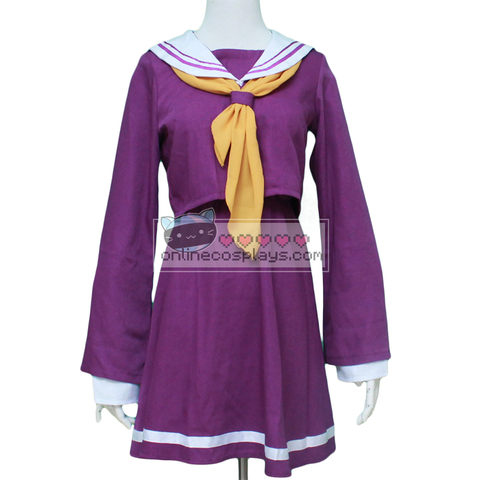 Shiro Anime Cosplay Costume [ No Game No Life ] OC1785