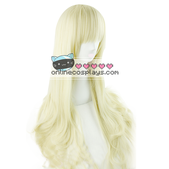 Blonde Wavy Long Wig OC1897