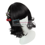 Natural Black Short Wavy Wig OC2122
