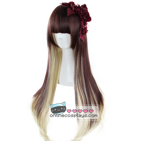 Light Brown Slightly Wavy Harajuku Wig