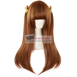 Brown Straight Long Wig OC251