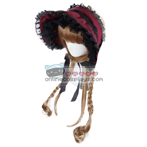 Light Brown Double Buns Wig OC2637