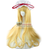 Pale Gold Blonde Straight Wig OC2894