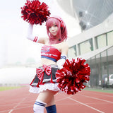 Cosplay Costume Japanese Anime Love Live Nishikino Maki Cheerleader OC916