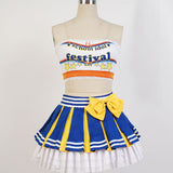 Cosplay Costume Japanese Anime Love Live Ayase Eli Cheerleader OC4056