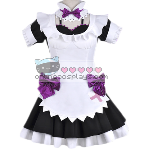 Cosplay Anime Love Live Nishikino Maki Maid Costume OC2376
