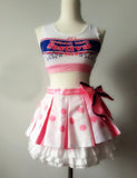Cosplay Costume Japanese Anime Love Live Yazawa Nico Cheerleader OC4727