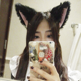 Colored Kitty Cat Plush Fluffy Ear Headband OC1355