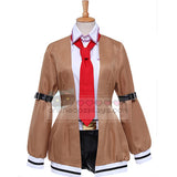 Steins Gate Makise Kurisu Cosplay Costume OC1139