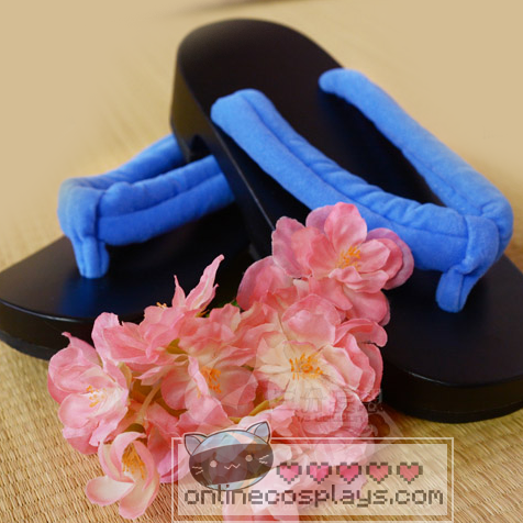 Rem and Ram Re:Zero Rezero Japanese Sandal Clogs Cosplay Costume