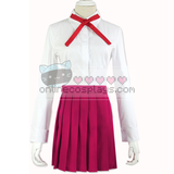 Himouto! Umaru-chan Red White Blouse Uniform Cosplay Costume OC4105