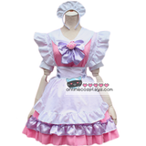 Pink Kitty Cat Kawaii Maid Dress OC6262