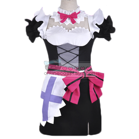 Nozomi Tojo Purple and White Lolita Love Live Cosplay Costume OC6635