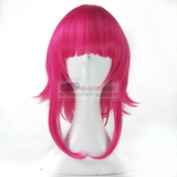 Hot Pink Short Fringe Bangs Wig Cosplay Annie from League of Legends OC1138