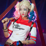 Suicide Squad Harley Quinn Cosplay Custome Set