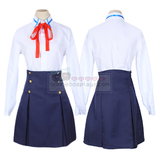 Asuna and Kirito Sword Art Online School Uniform Cosplay Costume OC2472