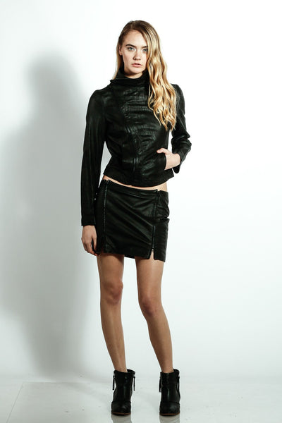 Uniform Double Collar Jacket