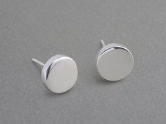 Coin Silver Earring (piece)