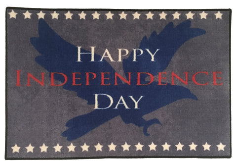 EAGLE 4TH OF JULY DECORATION RUG
