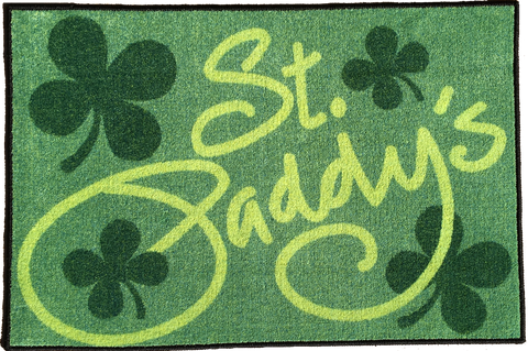ST PADDY'S DAY DECORATION RUG