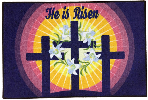 EASTER RELIGIOUS RUG