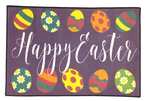 EASTER DECORATIONS RUG