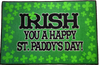 ST PATRICKS DAY IRISH RUG