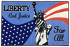 LIBERTY 4TH OF JULY RUG