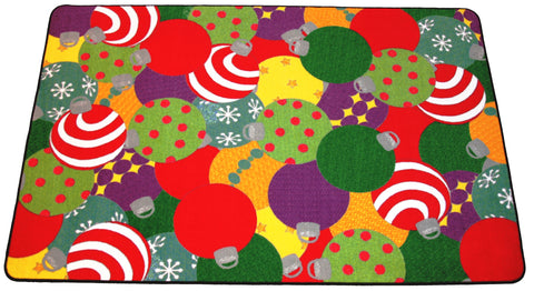 ORNAMENTS CHRISTMAS AREA RUG - MUTLI