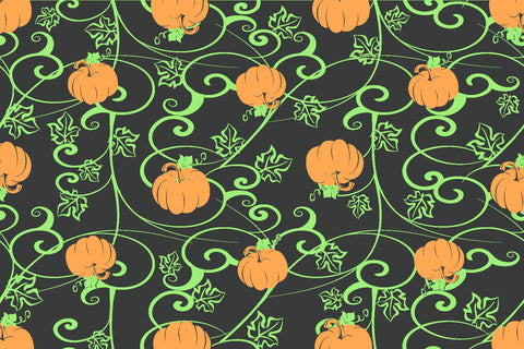 PUMPKIN HALLOWEEN DECORATION RUG