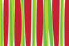 STRIPES MERRY CHRISTMAS RUG - RED/GREEN