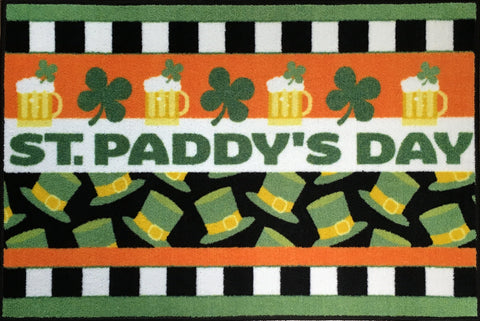 CHEERS ST PADDYS DAY RUG
