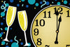 COUNTDOWN NEW YEARS DECORATION RUG