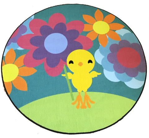 HAPPY CHICK SPRING RUG